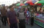 120 Pedagang Berpartisipasi Dalam Begoyap Night Market di Kelurahan Raja