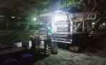 Pedagang Kaki Lima Eks Jalan Katamso Mulai Berjualan di Taman BMX Garuda