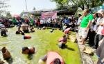Budaya Menangkap Ikan ala Dayak Mendapat Perhatian Pemerintah Pusat