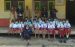Fasilitator Desa BRG RI Bagikan 400 Masker ke Sekolah