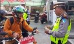 Satlantas Polres Kapuas Tilang 65 Pengendara di Hari ke-12 Operasi Patuh Telabang