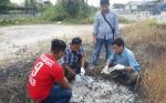Pria Ini Bakar Sampah tapi Membuat Kebakaran Lahan Puluhan Hektaredi Kecamatan Baamang