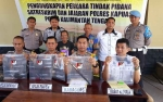 Polres Kapuas Rilis Pengungkapan Kasus Karhutla, Dua Pelaku Diamankan
