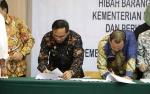 Wakil Bupati Katingan Hadiri Penandatanganan Serah Terima Hibah Barang Milik Negara