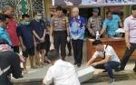86,71 GramSabuDibuang ke Selokan Polres Kotim