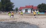 Citra Borneo Indah Unggul 1 : 0 Atas Dipah FC Mendawai Seberang di Babak Pertama Bupati Cup