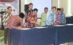Bupati Lamandau Tandatangani Nota Kesepahaman Bersama Penyelamatan Aset Daerah dengan BPN dan KPK