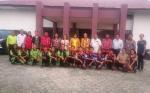 Wakil Bupati Efrensia LP Umbing Lepas Kontingen Jumbara Kabupaten Gunung Mas