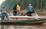 Sempat Kabur Dua Hari Menggunakan Kelotok Akhirnya Terduga Bandar Narkoba Tertangkap di DAS Barito