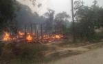Rumah di Desa Ampari Terbakar, Penghuni Nyaris Tak Selamat