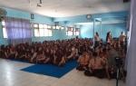 DLH Kotawaringin Barat Ajak Pelajar Daur Ulang Sampah