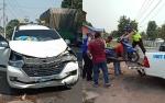 Mobil Vs Motor Kecelakaan di Basarang, 2 Orang dan 1 Bayi Alami Luka-Luka