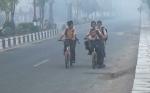 Sekolah di Sampit Diliburkan mulai Senin Akibat Kualitas Udara Kian Buruk