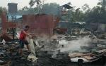1 Orang Tewas Terpanggang Saat Kebakaran di Gunung Mas