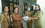 Kabut Asap, Dinas Kesehatan Kabupaten Gunung Mas kembali Bagikan Masker Gratis