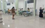 Terpapar Kabut Asap, Warga Palangka Raya Banjiri Rumah Oksigen RSUD Doris Sylvanus