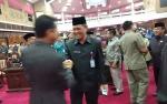Wakil Gubernur dan Sekda Hadiri Rapat Paripurna Penetapan Fraksi Pendukung DPRD Kalteng