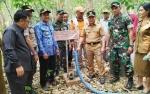 Gubernur Pantau Sumur Bor Penanggulangan Karhutla di Pulang Pisau