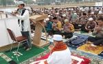 Doa Minta Hujan dalam Salat Istisqa di Polda Kalteng Dilakukan Penuh Khusuk