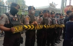 150 Personel Polres Palangka Raya Amankan Unjuk Rasa Depan Kantor Gubernur Kalteng