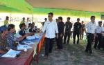 Sekda Pulang Pisau Monitoring Pilkades Serentak di Kecamatan Pandih Batu