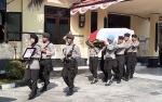 Bupati Sukamara Ikuti Upacara Penghormatan Terakhir Iptu Arif Miftahul Huda