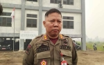 Intel Satpol PP Palangka Raya Dibackup TNI Selama Darurat Karhutla