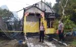 Rumah Kosong Milik Pemerintah Provinsi Kalimantan Tengah Terbakar