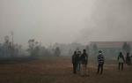 SMPN 8 Sampit Nyaris Terbakar Akibat Dikepung Kebakaran Lahan