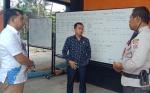 Sidak ke Posko Karhutla, DPRD Kotim Sesalkan Minimnya Partisipasi Perusahaan Perkebunan