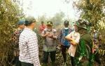Bupati Pulang Pisau Ajak Kepala SOPD Padamkan Kebakaran Hutan dan Lahan
