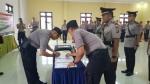 Tiga Perwira Polres Kapuas Bergeser Jabatan
