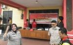 Polres Katingan Gelar Konferensi Pers terkait Karhutla
