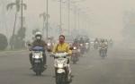 Jarak Pandang Palangka Raya Hanya 400 Meter akibat Kabut Asap