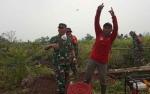 Pangdam XII/Tanjungpura Kunjungi Kobar Pantau Pelaksanaan Penanggulangan Karhutla
