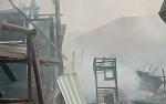 Rumah dan Sebagian Bengkel Las Terbakar, Pemilik Sempat Syok