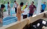 Wakil Bupati Murung Raya Pantau Instalasi Pengolahan Air PDAM Puruk Cahu
