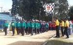 542 Regu Ikuti Lomba Gerak Jalan Memperingati HUT ke - 60 Kabupaten Kotawaringin Barat