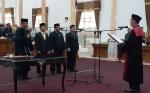 Unsur Pimpinan Definitif DPRD Sukamara Resmi Dilantik