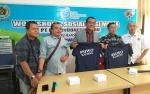 PT Liga Indonesia Baru Bersama SIWO Kalteng Beri Wawasan Pemberitaan Sepak Bola