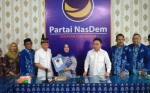 Agustiar Sabran Daftar ke Nasdem untuk Bakal Calon Bupati Pilkada Kotim 2020