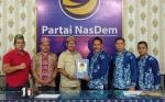 Dosen UPR Danes Jayanegara Susul Sugianto Sabran Daftar Bakal Calon Gubernur Kalteng ke Nasdem