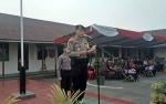 Polres Barito Selatan Gelar Pasukan Pengamanan Pilkades Serentak