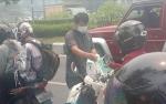 Lindungi Warga Dari Paparan Asap, CBI Group Bagi 15.000 Masker di Palangka Raya
