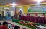 Asisten I Setda Gunung Mas Buka Sosialisasi dan Advokasi POPM Filariasis.