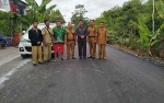 Bupati Pulang Pisau Edy Pratowo Minta Masyarakat Peduli terhadap Infrastruktur Jalan