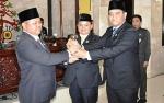 Diisi Wajah Baru, Tiga Unsur Pimpinan Definitif DPRD Kapuas Diambil Sumpah Jabatan