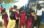 Mobil Perpustakaan Keliling DPK Kabupaten Gunung Mas Sambangi Tewah