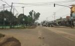 Pemko Palangka Raya Lanjutkan Pelebaran Jalan Rajawali