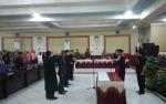 Unsur Pimpinan DPRD Barito Timur Periode2019 - 2024Resmi Dilantik